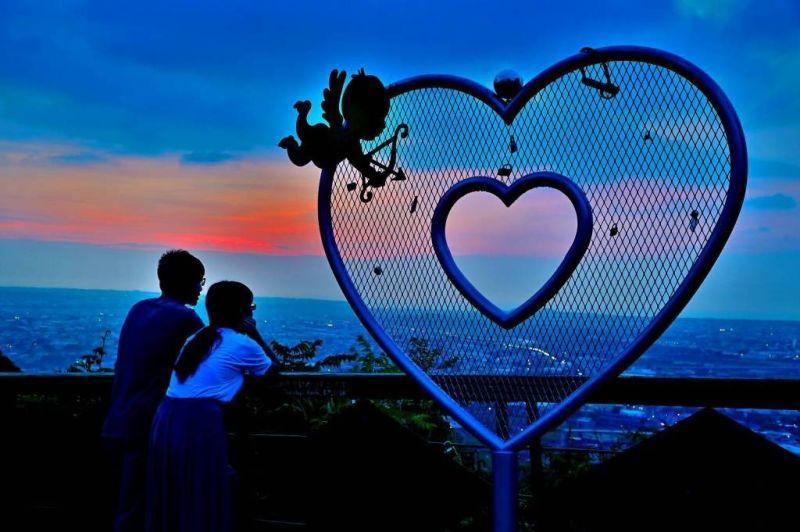 越夜越美公老坪 白色情人節超浪漫景點