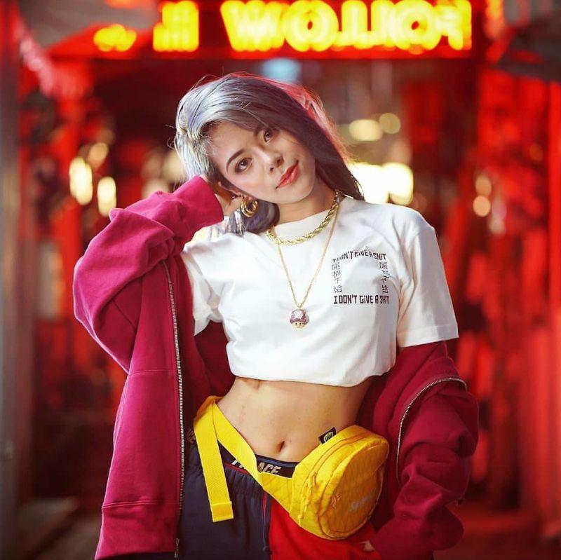 ▲夏沐參與嘻哈選秀節目《大嘻哈時代》,成為唯一海選晉級的女嘻哈歌手。(圖/聲達科技音樂有限公司提供)