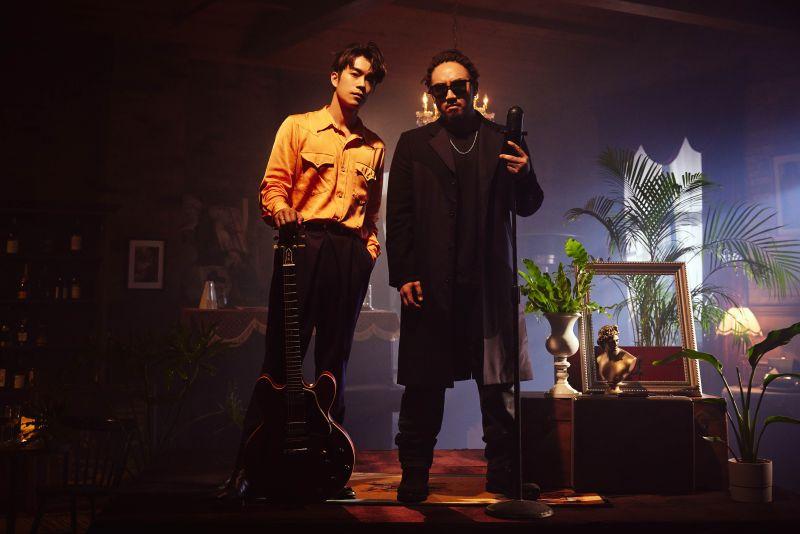 ▲劉家凱、Matzka合作歌曲《別像個男人》。(圖/環球音樂提供)