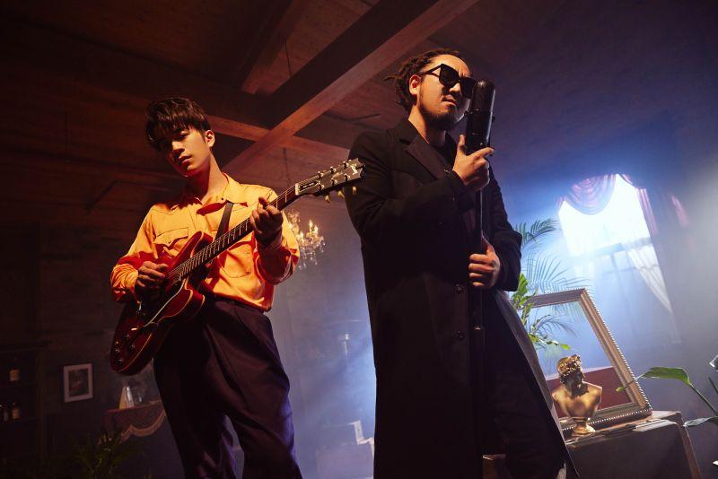 劉家凱、Matzka合作歌曲《別像個男人》。(圖/環球音樂提供)