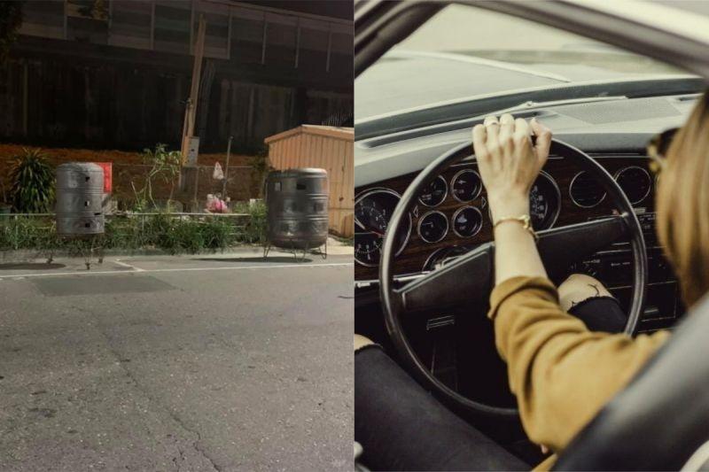 ▲有網友發現路邊的停車格,竟被擺了兩個金爐,讓他相當傻眼。(示意圖/翻攝自《爆怨公社》及《pexels》 )