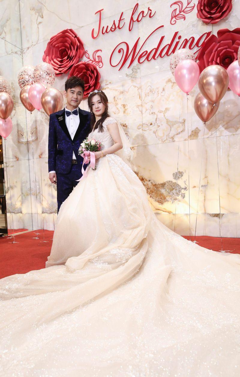 ▲吳俊宏舉辦婚禮。(圖/豪記唱片提供)