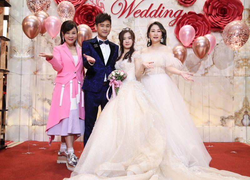 吳俊宏舉辦婚禮。(圖/豪記唱片提供)