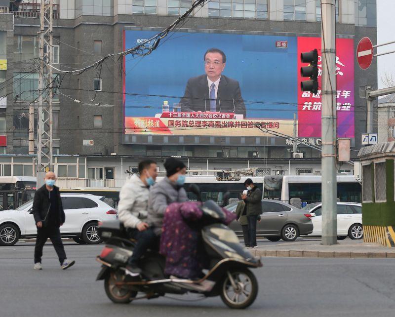 中國街景/李克強/美聯社