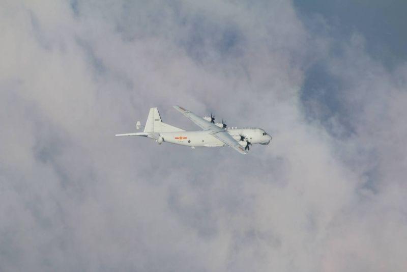 ▲國防部今(4)日證實,中共解放軍今日派出1架次運8反潛機(Y-8 ASW)闖我西南空域防空識別區(ADIZ)。(圖/國防部提供)