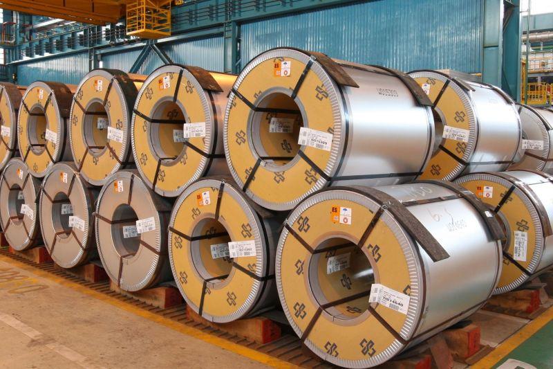 ▲中鋼公司內銷鋼品盤價會議決議調漲。(資料照/記者黃守作攝)