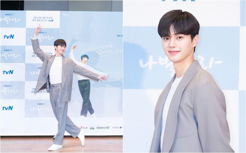 ▲宋江飾演23歲天才芭蕾青年。(圖/Netflix)