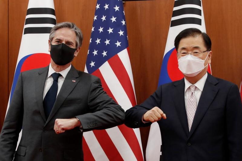 美中外交高層會談將至!外媒分析:南韓立場左右為難
