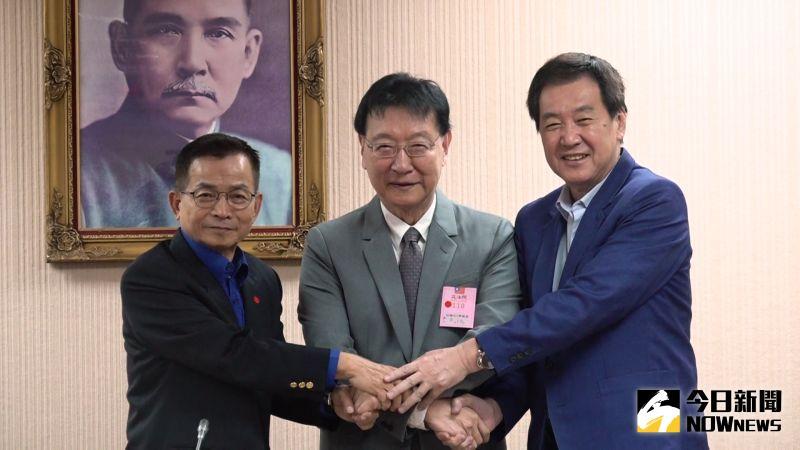 影/賴士葆、趙少康合體 主張內閣制、恢復閣揆同意權
