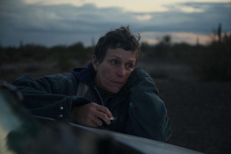 ▲電影《游牧人生》入圍奧斯卡金像獎最佳導演、最佳攝影等6獎。(圖/探照燈影業提供)