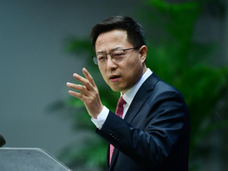外媒報導鄭州水災被威脅 趙立堅反嗆:BBC都在造謠