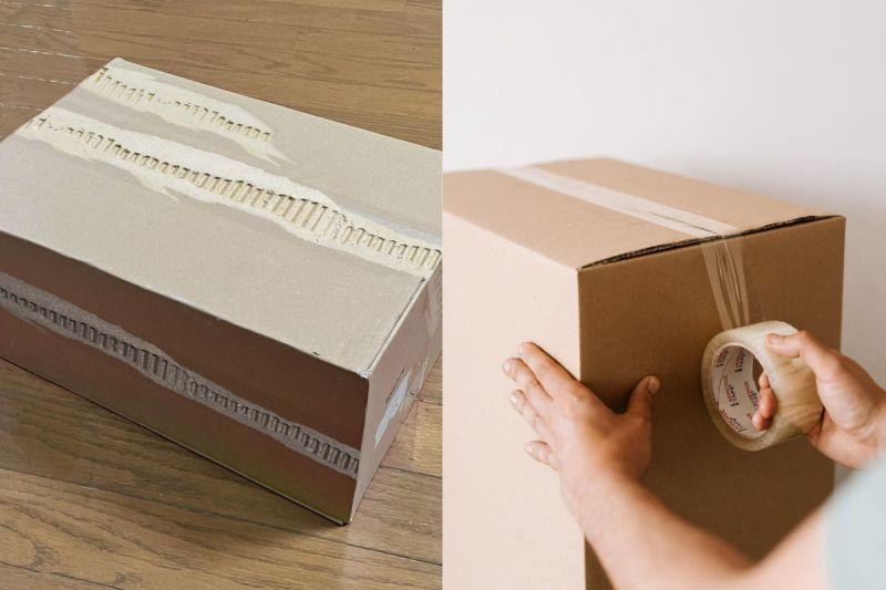 ▲有位日本網友發明一款超特別的封箱膠帶,讓網友們全部看傻。(示意圖/翻攝自《Monyaizumi》twitter及《pexels》 )