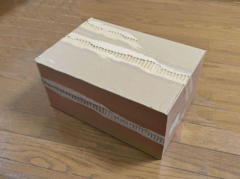 ▲日本網友發明的封箱膠帶,造型是用「表面破掉的紙箱」進行設計。(示意圖/翻攝自《Monyaizumi》twitter)