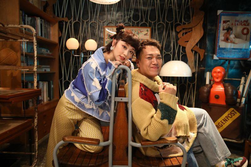 關韶文與焦凡凡合作推出單曲《一加一大於二》。(圖/關韶文經紀人提供)
