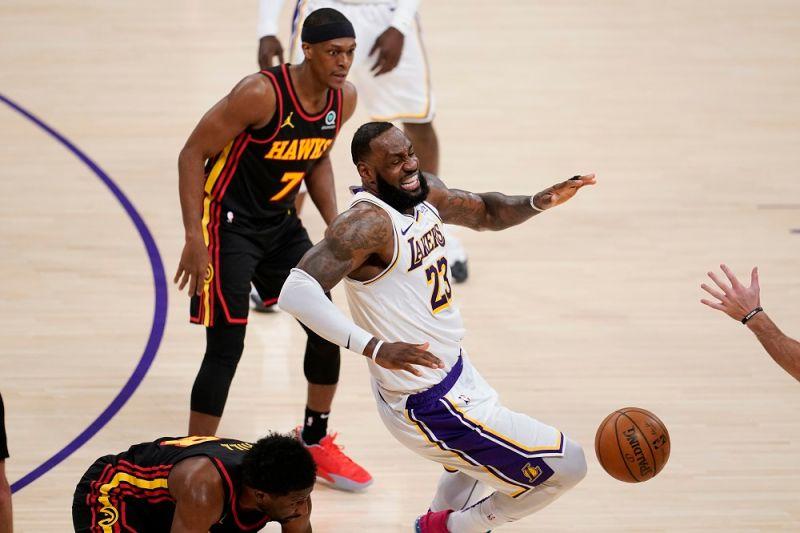 NBA/詹皇腳踝又出狀況 湖人官方宣布將缺席2場比賽