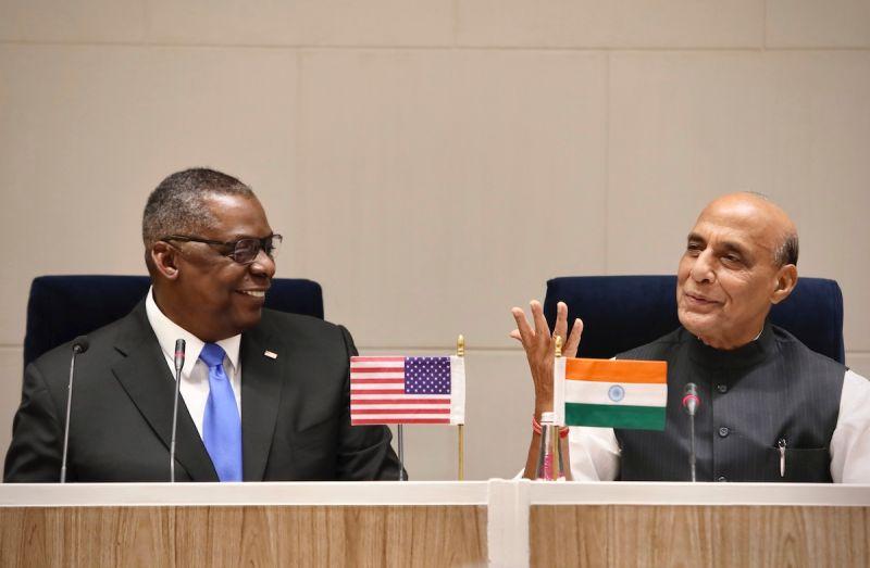 印度外長與美國防長會晤 就全球局勢廣泛對話