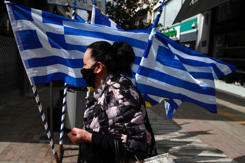 ▲希臘政府今天表示,下月將開始免費分發新冠肺炎DIY檢測組,希望能藉此遏止疫情繼續擴散。(圖/美聯社/達志影像)