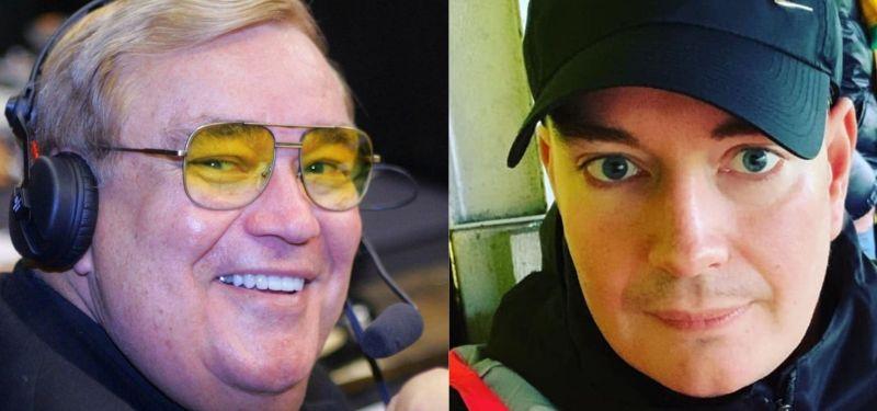 ▲40歲英國男子西蒙(右)與生父謝里頓相認。(圖/翻攝Bob Sheridan IG/Simon Edwards臉書)