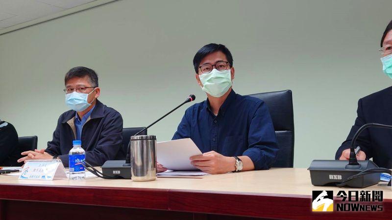 高雄市長陳其邁今日召開第一次的旱災應變會議。(圖/記者鄭婷襄攝,2021.03.22)