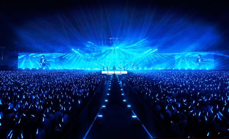 ▲五月天「好好好想見到你」演唱會20日起在台南市立體育場舉辦。(圖/相信音樂)