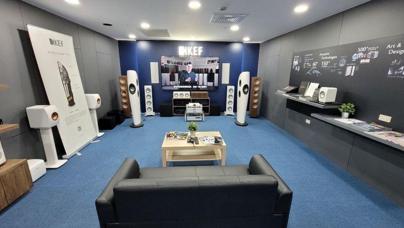 ▲「集雅社」義享時尚廣場店,與英國殿堂級音響品牌KEF聯手規劃,以參考香港KEF