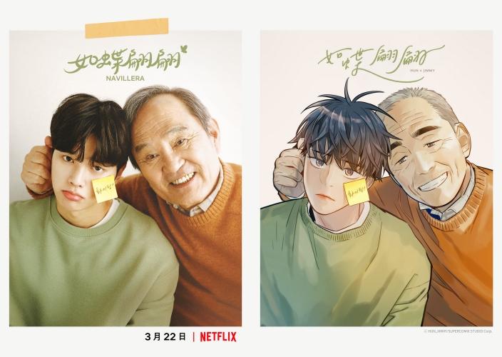 ▲《如蝶翩翩》故事動人,宣布製作電視劇後引起關注。(圖/Kakao Entertainment、Netflix)