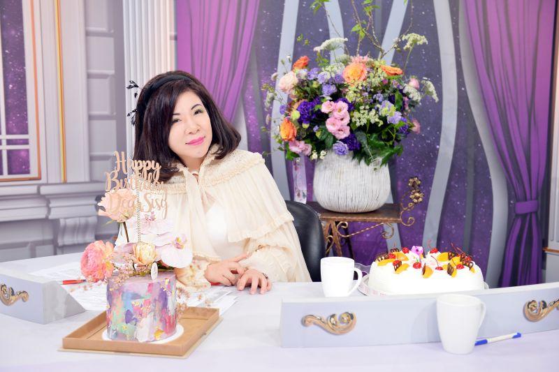 ▲陳文茜即將度過63歲生日。(圖/TVBS)