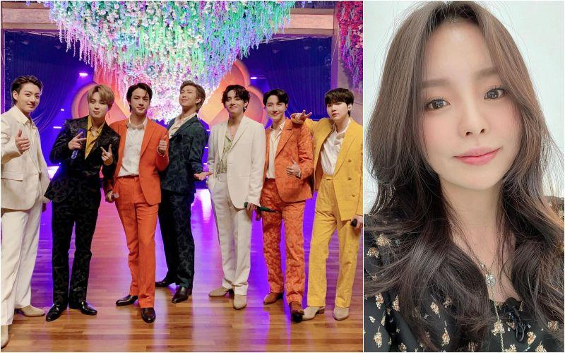 ▲J-HOPE姐姐鄭智宇(右),已簽給知名公司「Cube娛樂」。(圖/BTS Twitter、鄭智宇IG)