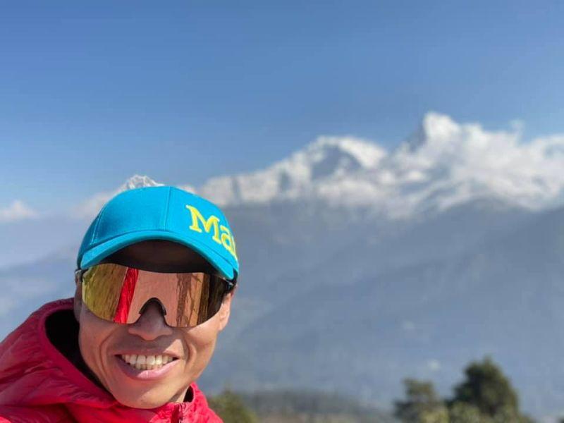 ▲台灣登山家「阿果」呂忠翰目前已展開攀登世界第10高峰—安納普爾納峰(Annapurna)計畫。(圖/橘子關懷基金會提供)