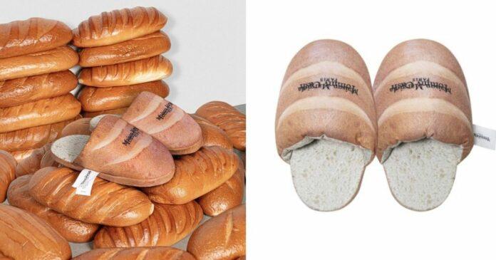 ▲愛沙尼亞饒舌歌手Tommy Cash 近日與人氣品牌Maison Margiela推出另類的麵包拖鞋。(圖/擷取自Tommy Cash 官網)