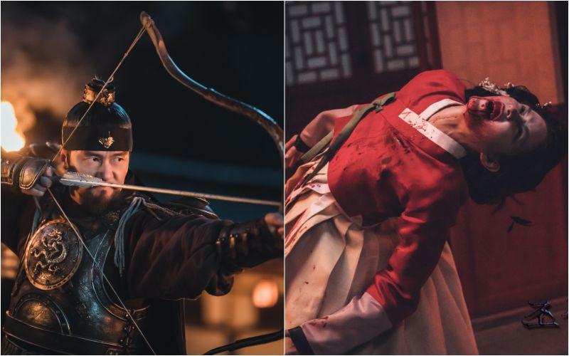▲《朝鮮驅魔師》製作費高達320億韓元,劇中活屍與一般在影劇中常見的不太一樣。(圖/SBS、friDay影音)