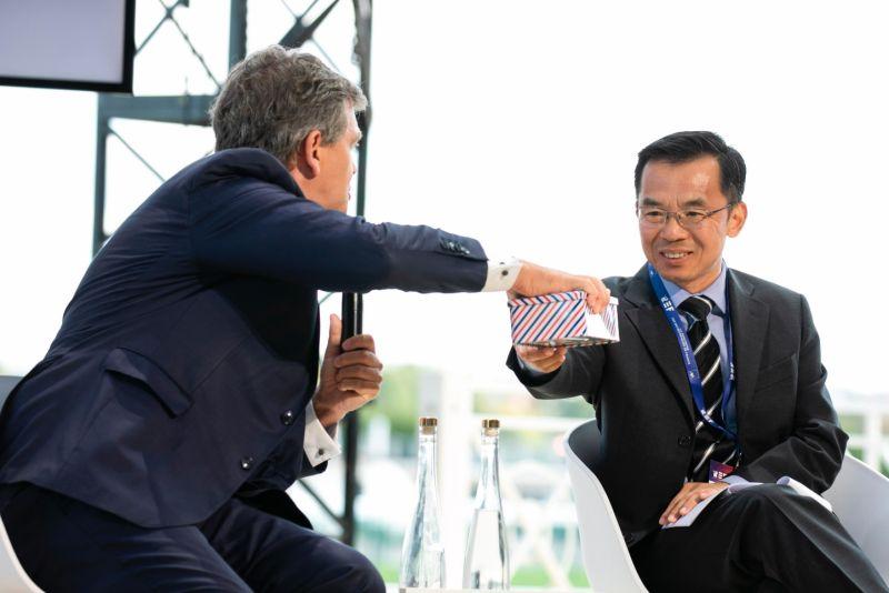▲中國駐法國大使盧沙野戰狼式的言論惹怒法國政府。(圖/美聯社/達志影像)