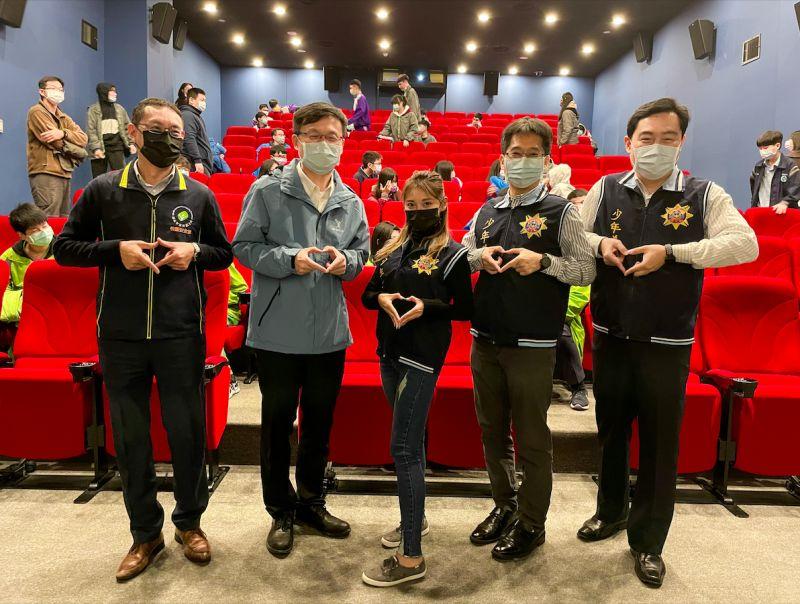 ▲祈錦鈅第4度代言新北市政府警察局宣導活動。(圖/固力狗娛樂提供)