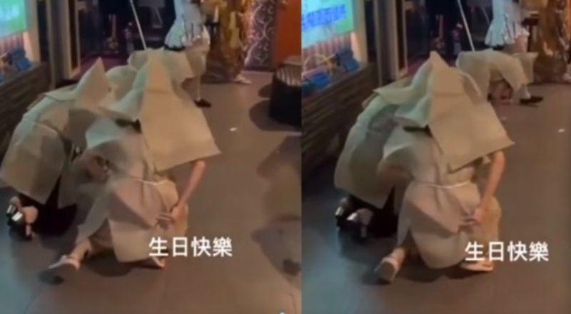 KTV慶生惡搞撒冥紙!4人穿麻衣畫面曝 網揭「恐怖下場」