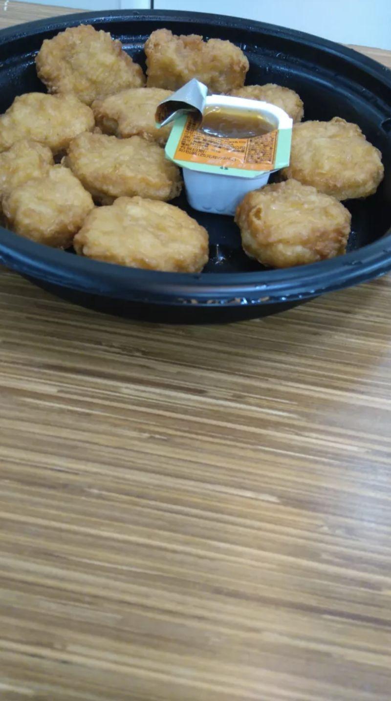 ▲雞塊「原味不沾」被最多網友認為「最好吃」。(圖/翻攝自網路論壇《Dcard》)