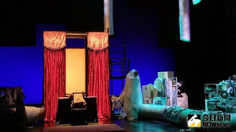 ▲「巢Hideout」引領觀眾進入舞作巢居世界的無限想像。(圖/記者陳美嘉攝,2021.03.25)