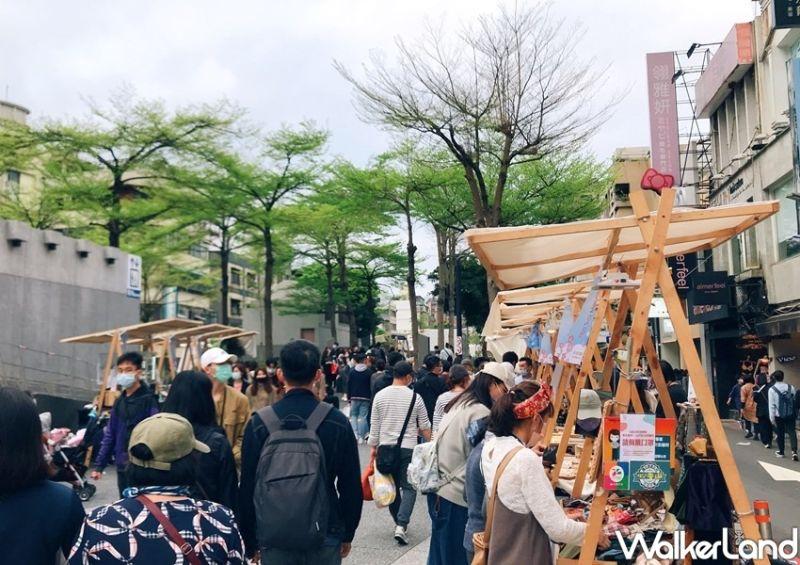▲春暖花開市集預計將在三月底至四月周末於台北中山站登場。(圖|春暖花開市集/Taipei Walker提供)