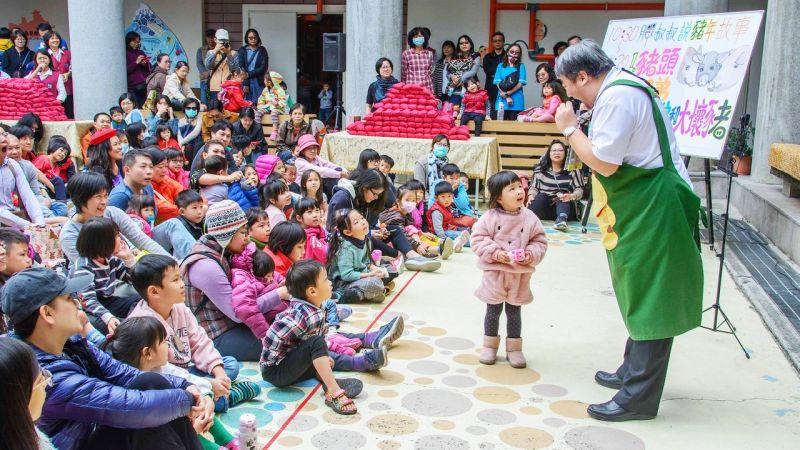 ▲兒童美術館為期4日的「閃閃發光兒童節」系列活動場場歡樂精彩,大眾皆可免費參加