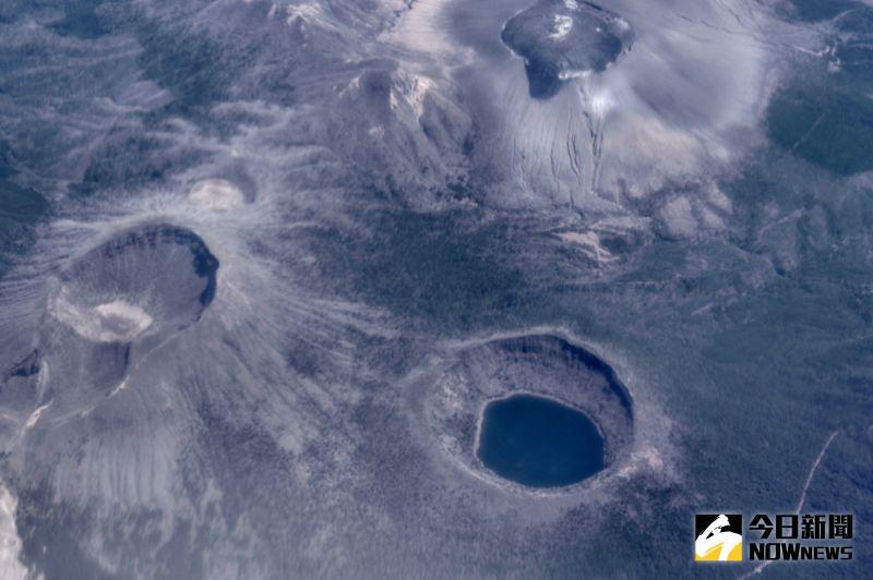 ▲空中俯瞰櫻島火山。(圖/記者陳致宇攝)