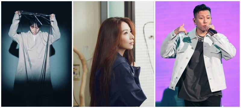 網友們選出心中最愛的專輯,前三名分別是吳青峰(左圖起)、田馥甄、瘦子。(圖/環球音樂提供、何樂音樂提供、KKBOX提供)