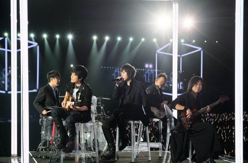 ▲五月天在台南開唱。(圖/相信音樂提供)
