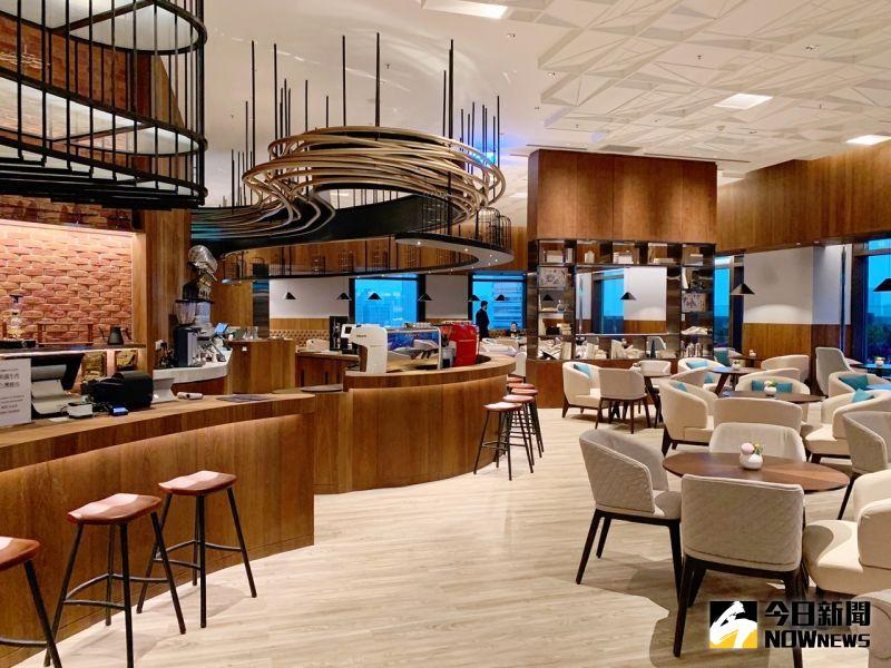 ▲ 全館有10間特色餐廳供應中西式美饌。(圖/記者陳美嘉攝,2021.03.27)