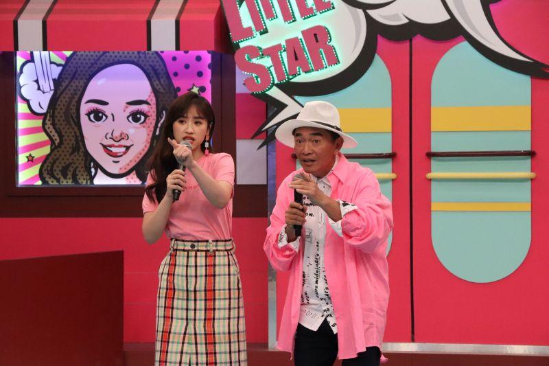 ▲吳姍儒(左)、吳宗憲探討台客文化。(圖/中天綜合台提供)