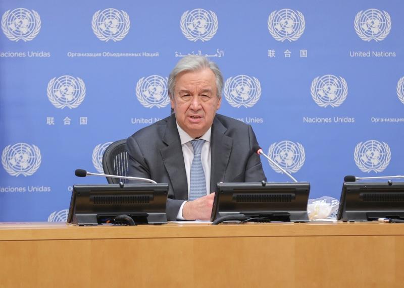 ▲加拿大媒體播出聯合國祕書長古特瑞斯的專訪,他說聯合國正在跟中國進行磋商,期望能允許聯合國人員「不受限制地」造訪新疆地區,以瞭解當地維吾爾族人的處境。資料照。(圖/美聯社/達志影像)