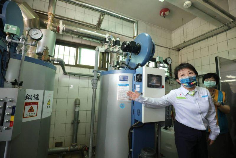 中市空污治理一環 130校廚房鍋爐汰換完成