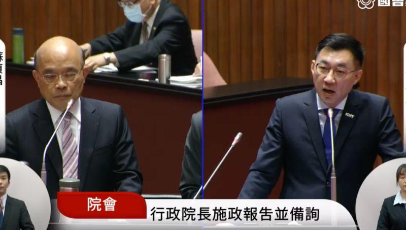 江啟臣轟觀光推動委員會3年未開 蘇貞昌允諾檢討
