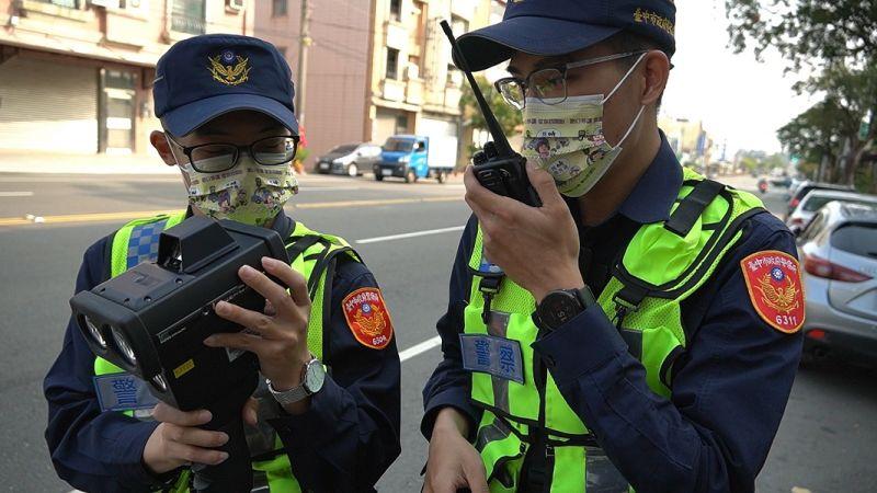中市警科技偵測 攔查超速行車