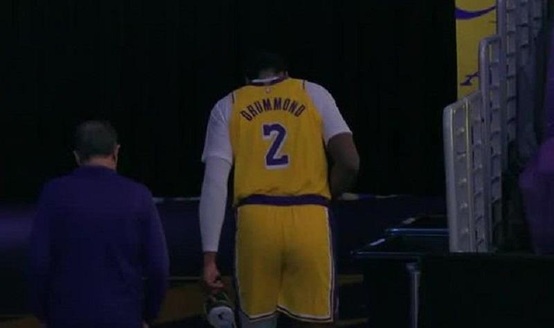 NBA/湖人中鋒腳趾傷情無大礙 預計休1-2場就能回歸