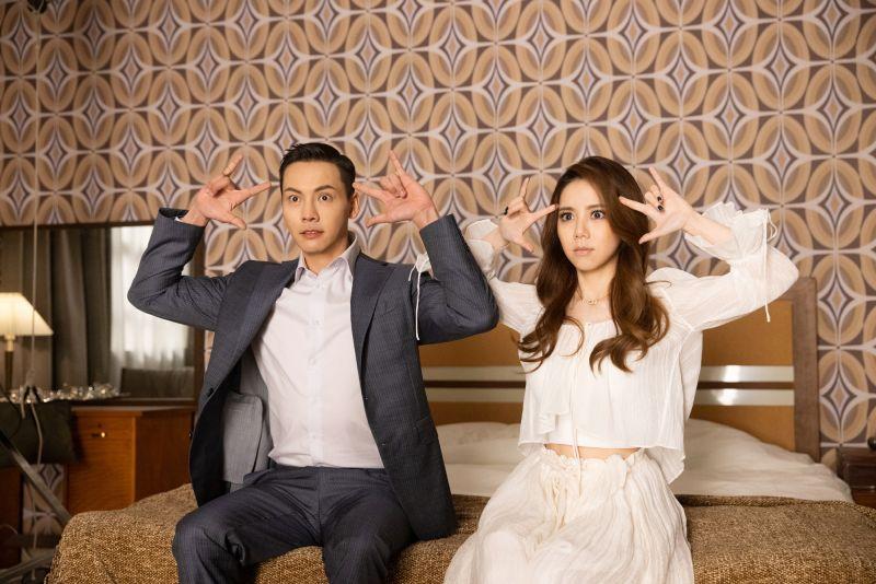 ▲鄧紫棋拍攝新歌《超能力》MV,男主角找來好友陳偉霆演出。(圖/索尼音樂提供)
