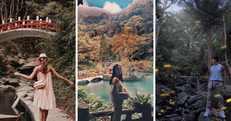 ▲烏來雲仙樂園夏季更有賞螢火蟲專屬步道,十分值得拜訪!(圖/@gracebeyondstars
